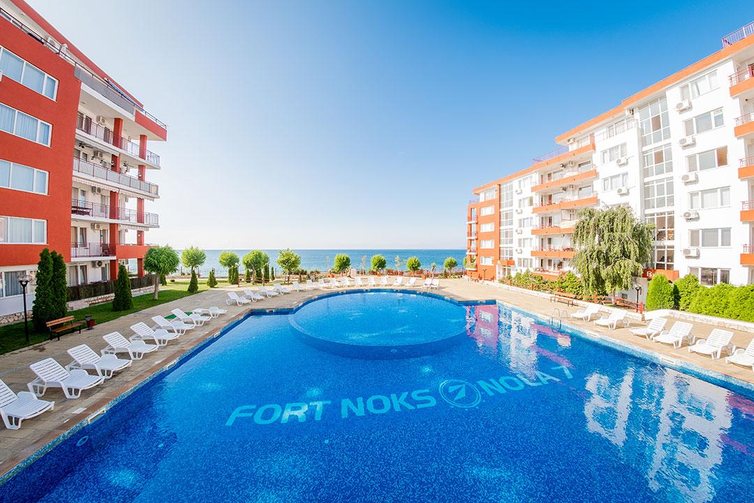 Продажа квартир в лучшем комплексе Болгарии на берегу моря
